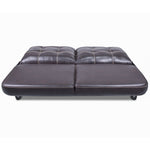 "Lippert 389311 68"" Jack-Knife Sofa in Majestic Chocolate"