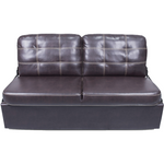 "Lippert 389308 62"" Jack-Knife Sofa in Poise Dark Chocolate"