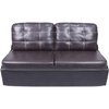 "Lippert 364579 62"" Jack-Knife Sofa in Melody Walnut"
