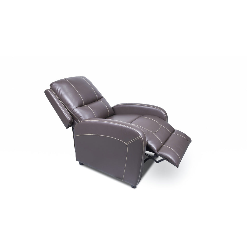 Lippert 377054 Pushback Recliner in Majestic Chocolate