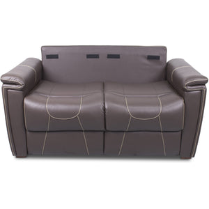 "Lippert 377708 68"" Trifold Sofa in Majestic Chocolate"