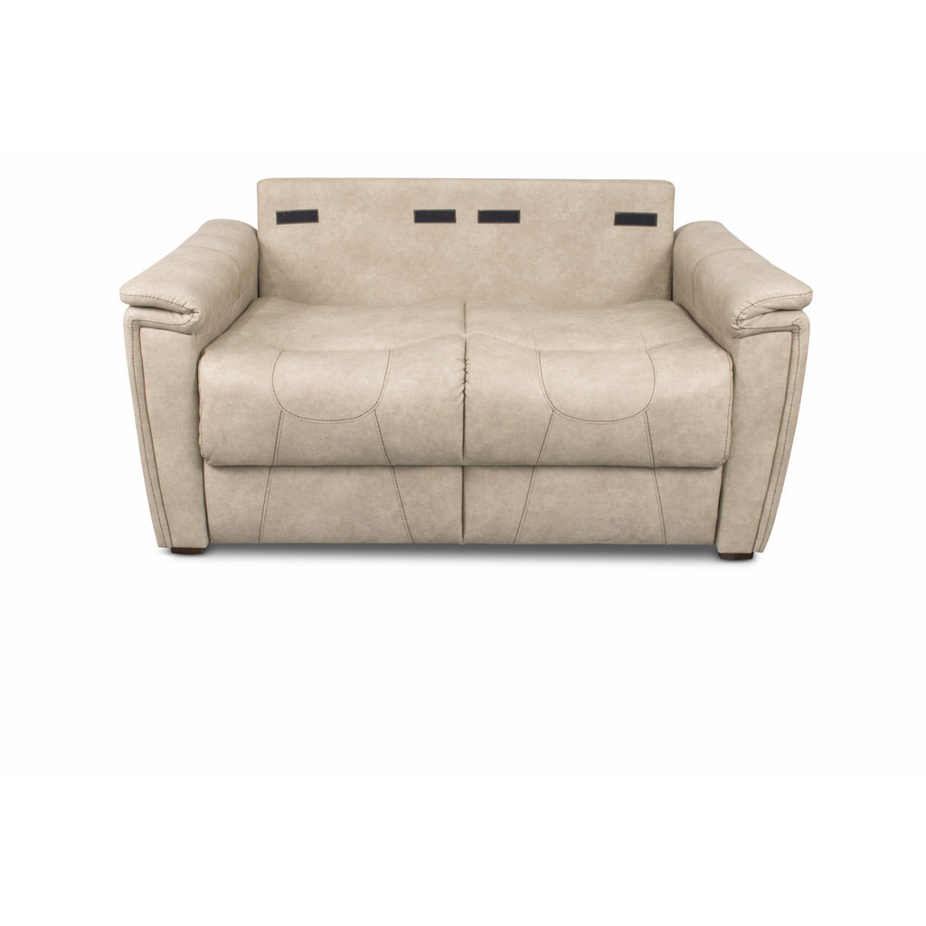 "Lippert 379930 68"" Trifold Sofa in Grantland Doeskin"