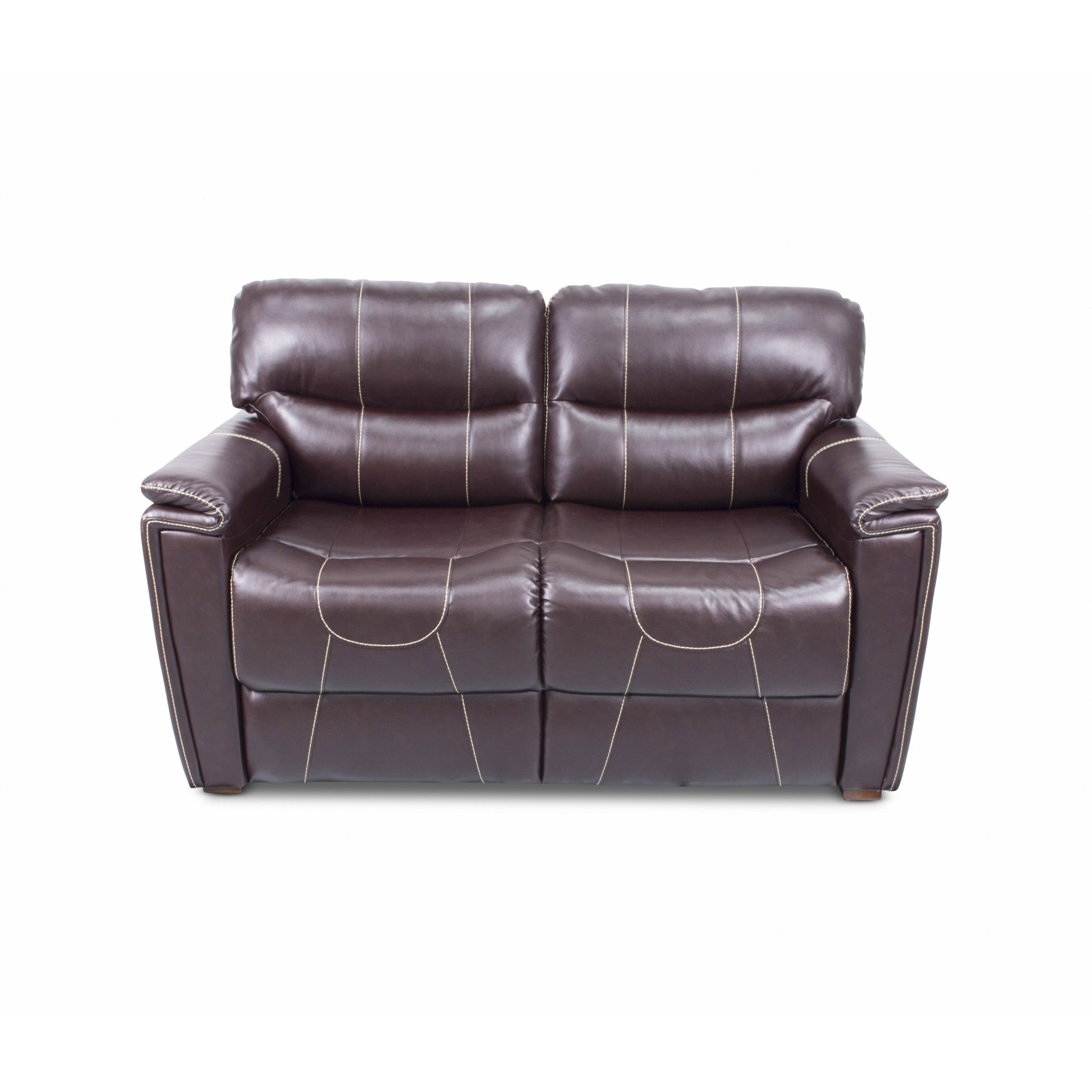 "Lippert 380400 68"" Trifold Sofa in Jaleco Chocolate"