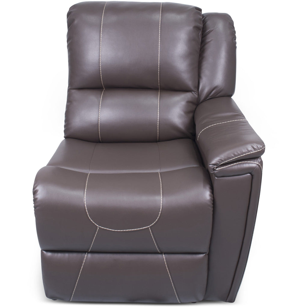 Lippert 386637 Left Hand Recliner in Majestic Chocolate