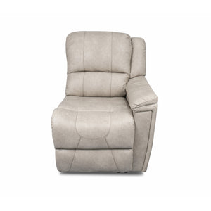 Lippert 386644 Left Hand Recliner in Grandland Doeskin