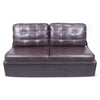 "Lippert 389310 68"" Jack-Knife Sofa in Poise Mahogany"