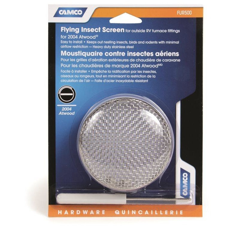 Camco 42144 Flying Insect Screen - FUR500, Atwood 2004 Furnace, Blister
