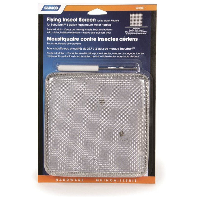 Camco 42151 Flying Insect Screen Water Heater - 400