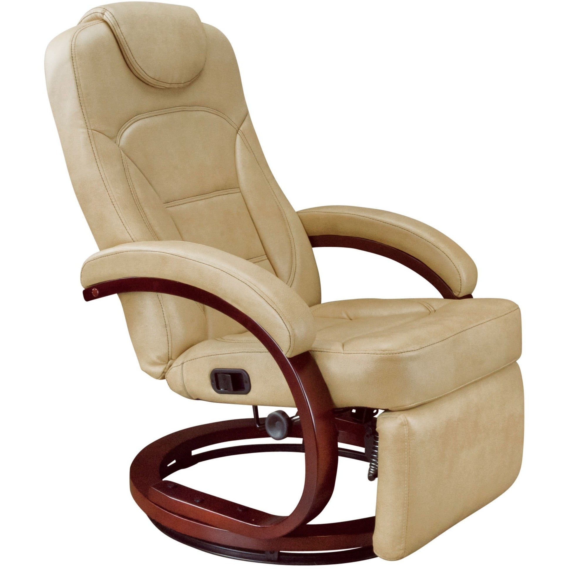 Lippert 426797 Euro Recliner Chair With Footrest in Alternate Latte