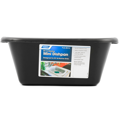 Camco 43515 Black Mini Dish Pan General Rv Parts Catalog