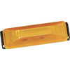 Bargman 47-38-034 Side Marker Clearance Light LED #38 Amber with Black Base with Pigtail