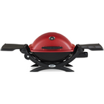 Weber 51040001 Q1200 Red Gas Grill