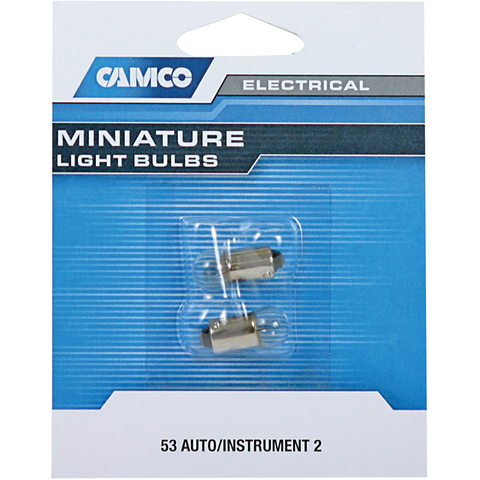 Camco 54711 53 Style Auto Instrument Bulb General Rv