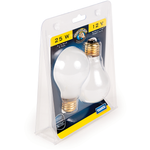 Camco 54892 Style A-19 25W RV/Marine Screw-in Light Bulb