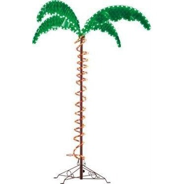 Mings Mark 8080104 Decorative LED Rope Light – 7′ Palm Tree (D)
