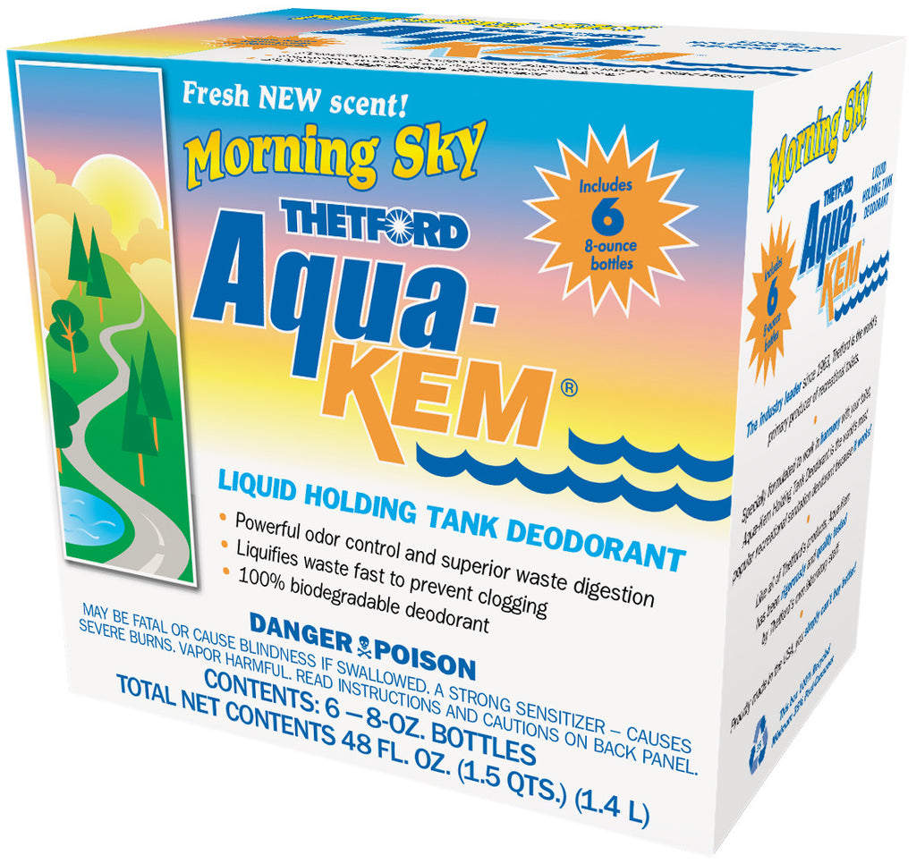 Thetford Aqua-Kem Morning Sky 8oz Bottles