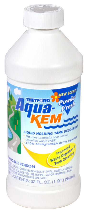 Thetford Aqua-Kem Liquid 32oz in Powder Fresh
