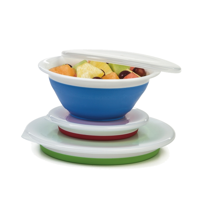Collapsible bowls