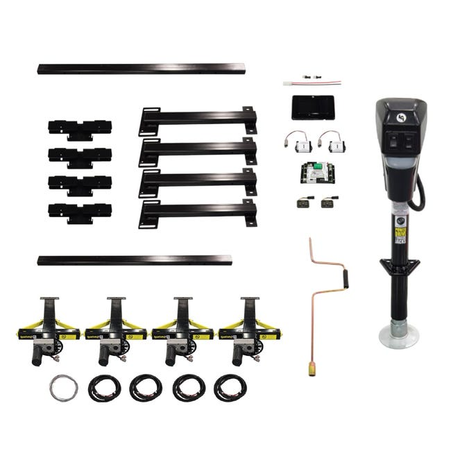 Ground Control TT Kit Electric Travel Trailer Leveling System