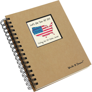 Journals Unlimited JU-60 Visiting 50 States Journal (D)