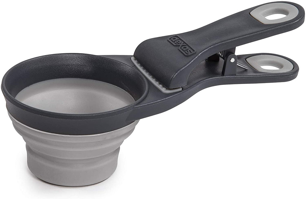 Collapsible klipscoop 2 cup