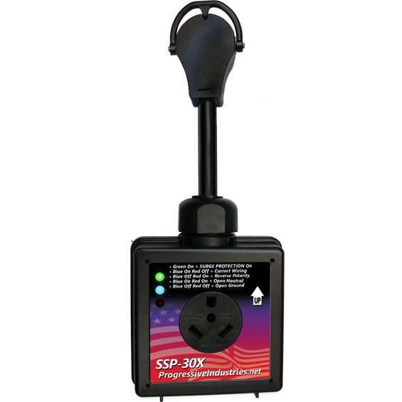 Progressive Industries 30 Amp Portable RV Smart Surge Protector
