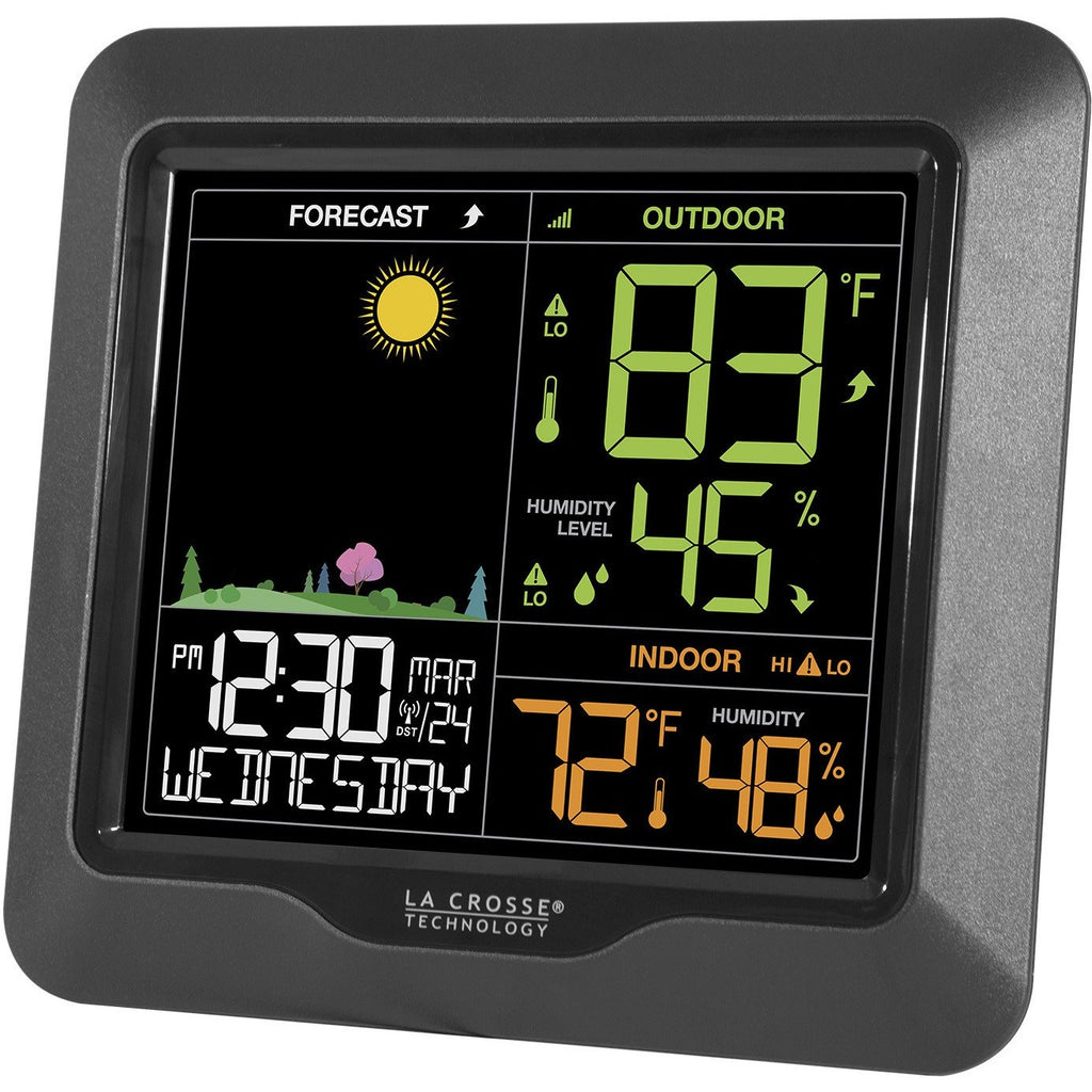 La Crosse S85814 Wireless Color Forecast Station