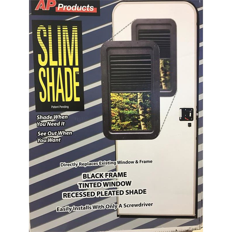 AP Products 015-201512 Slim Shade RV Door Window