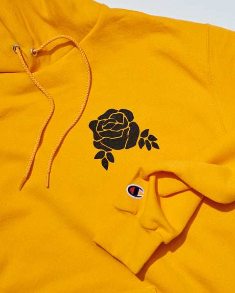 The Flower Shop x Champion Gold Edition Hoodie