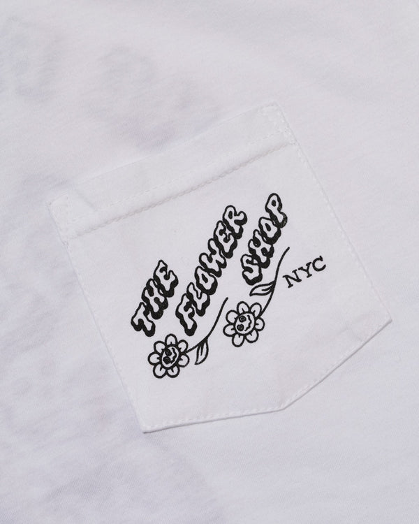 The Flower Shop x Jamie Browne T-Shirts (White)
