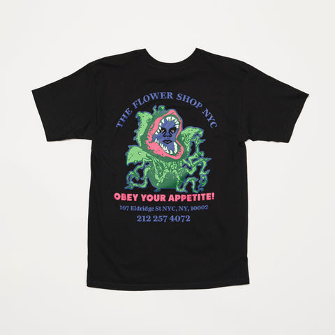 OBEY x The Flower Shop of Horrors Tee (Black)