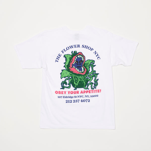Obey x The Flower Shop of Horrors Tee (White)