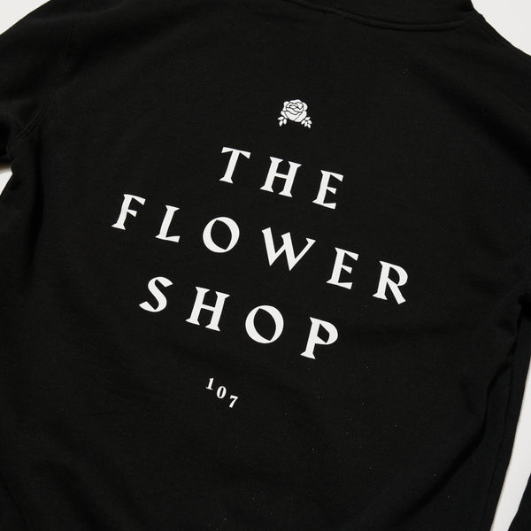 The Flower Shop Hoodie (Black)