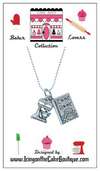BAKER LOVERS NECKLACES-6 DESIGNS