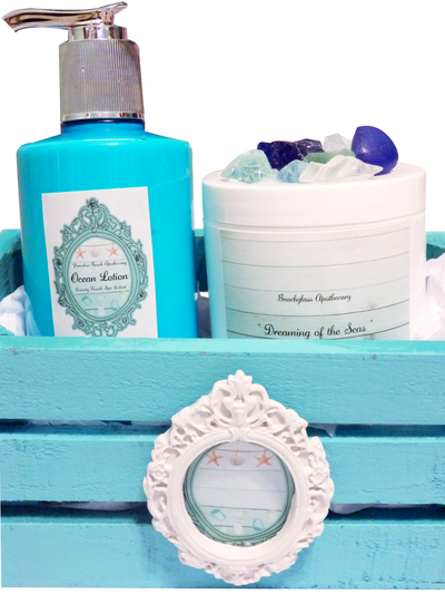 Copy of Paradise Seas Gift Crate Set-Free Beach Charm