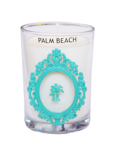 Luxury Palm Tree Palm Beach 100% Coconut SOY 8 oz. Candle