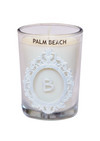 Luxury Monogram Palm Beach 100% Coconut SOY 8 oz. Candle