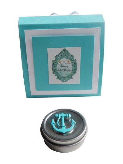 Luxury Seaside ANCHOR Solid Perfume-Comes with a free Necklace Charm