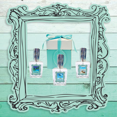 PARADISE ISLAND Perfume-Comes with a Free Shell Charm