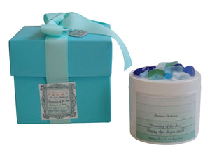 The Sea Luxury Sugar Scrub Favor Set of 12-Comes with a free Necklace Charm
