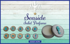 Luxury Seaside  Solid Perfume-FAVOR SET OF 15 COUNT