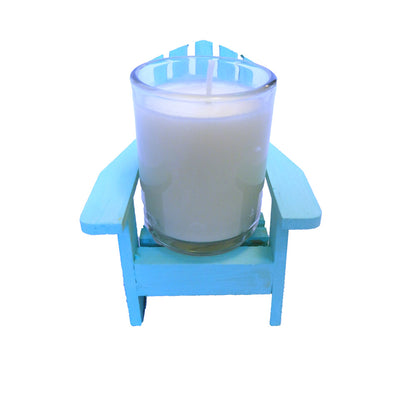 Adirondack Chair Candle Gift Set of 3-Comes with a free Starfish Charm