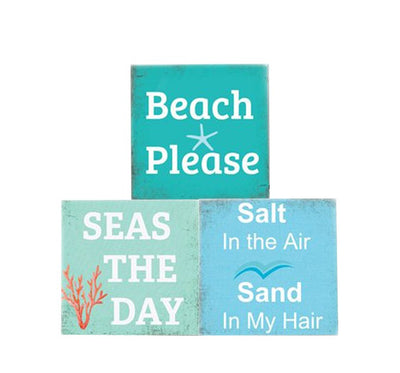 Beach Quote Soap Bar Gift Set-3 COUNT-Beach Chic Set