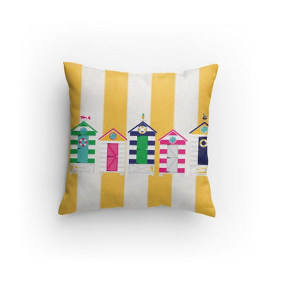 Cabana Hut Beach Pillow
