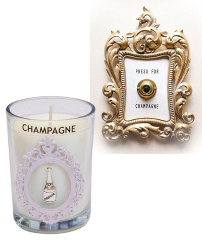 Luxury Palm Beach Champagne Seaside 100% Coconut SOY 8 oz. Candle