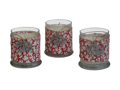 Luxury Coral Reef Candle-Comes with a free Necklace Charm