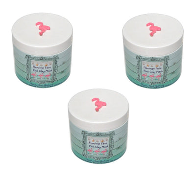 Flamingo Face Pink Clay Mask-FAVOR SET OF 15 COUNT