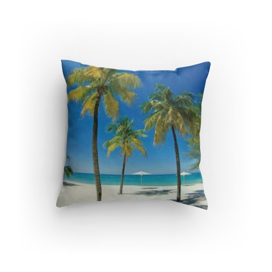 Island Beach Pillow