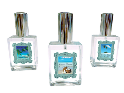 TROPICAL BEACH Perfume-Comes with a Free Starfish Charm