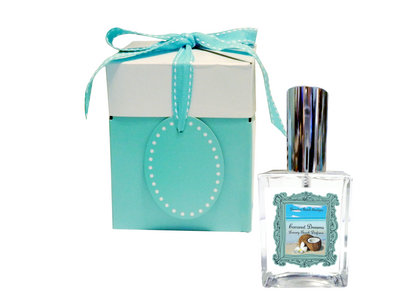 COCONUT DREAMS Perfume-Comes with a Free Palm Tree Charm